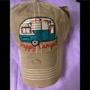Accessories - New!  Happy Camper hat